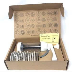 The Pampered Chef Cookie Press #1525 in Box